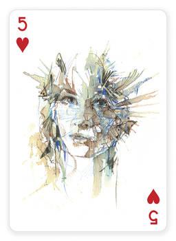 5 of Hearts