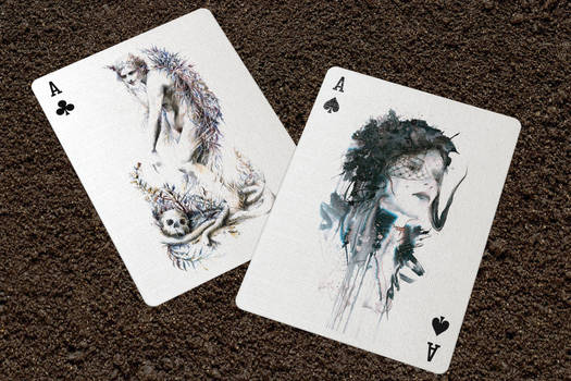 Eleven and Woman in black from new deck
