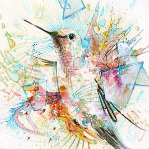 1000bpm - Hummingbird Print