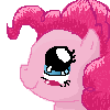 FREE ICON: Pinkie Pie (just credit moi) by Star--Sprout