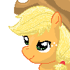 FREE ICON: Applejack (just credit moi) by Star--Sprout