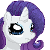 FREE ICON: Rarity (just credit moi) by Star--Sprout
