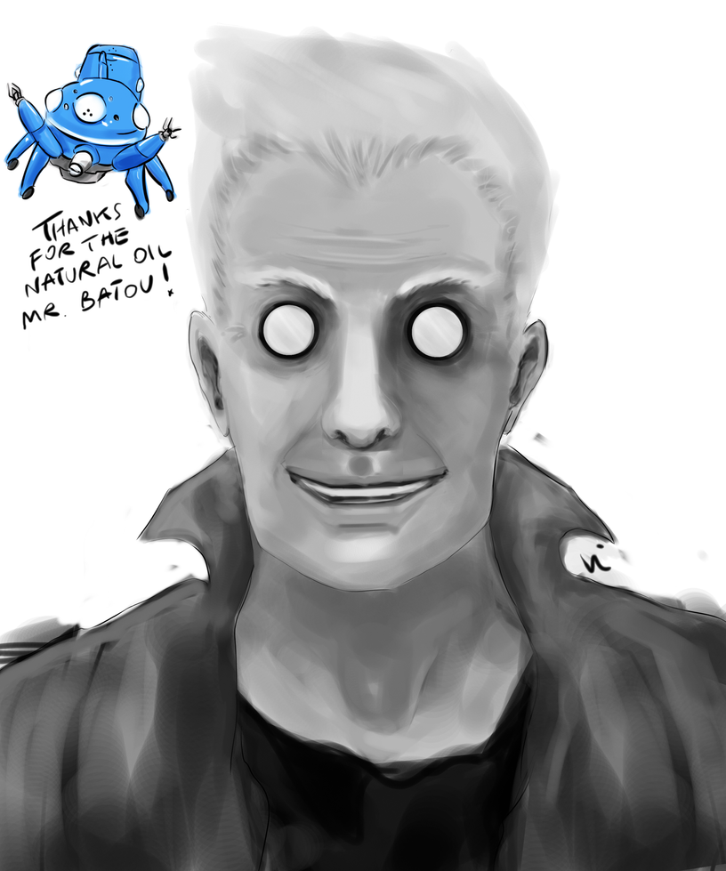 Ghost In The Shell: Batou By NvmenInest On DeviantArt
