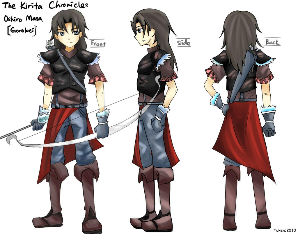 Design Anime Character Free : The kirita chronicles character design gorobei by