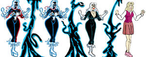 Blackcat With Symbiote 3 by xlob2
