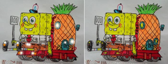 2021 Sponge Bobs truck by xlob2