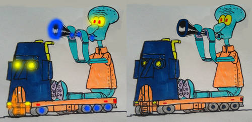2021 Squidward Tentacles truck by xlob2