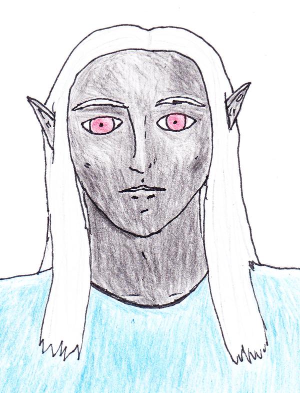 Drow Warrior: Mazarun Zothyrr by RilwenShadowflame
