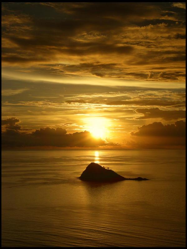 Sunset by hitaak