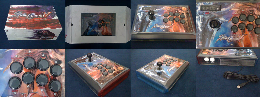 SCV Arcade stick by Chipp-Zanuff