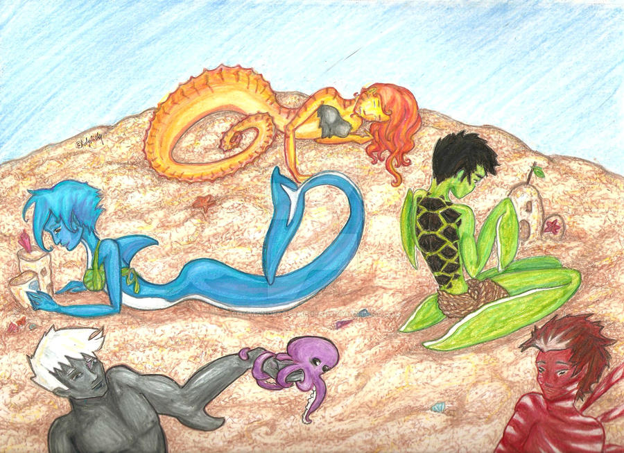 The Merpeople part2 by commanderofthedead