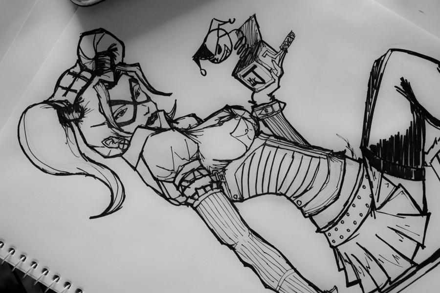 Harley Quinn By Danup San On Deviantart