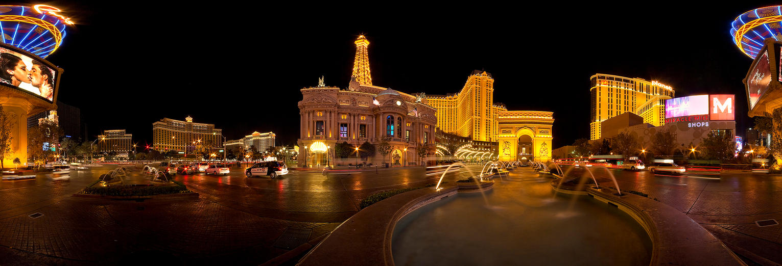Paris, Las Vegas Panorama by acojon