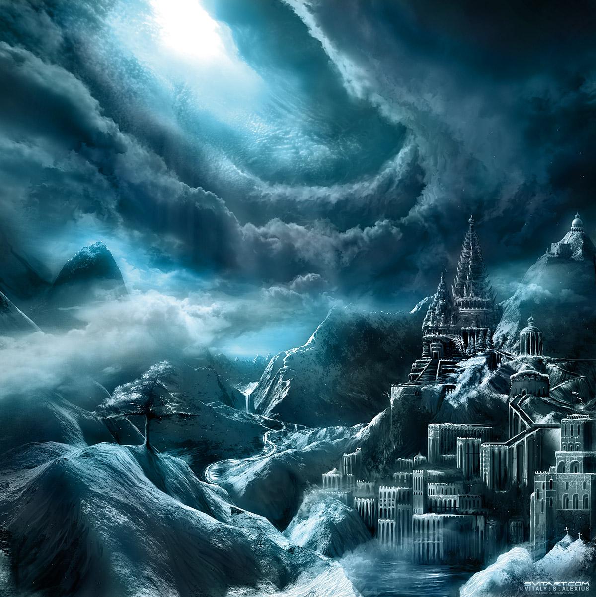 Adamant Citadel by alexiuss dans Darkness Adamant_Citadel_by_alexiuss