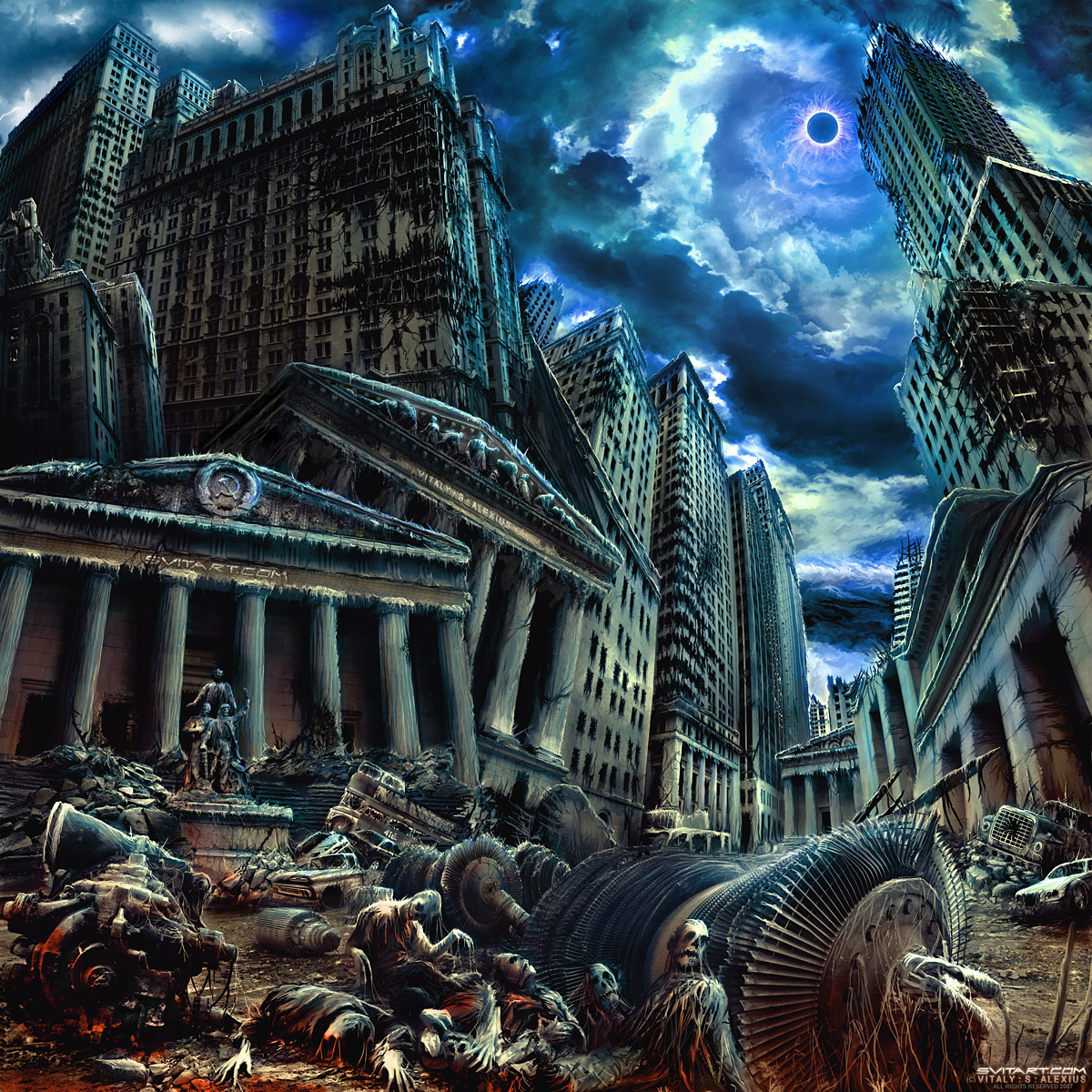 Aeons of Eclipse by alexiuss