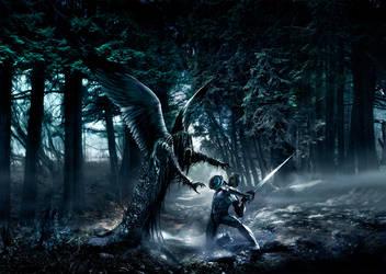 Tree hugger by alexiuss