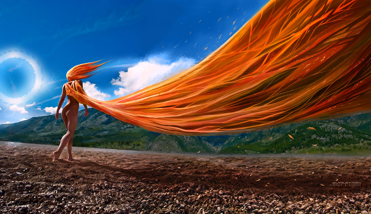 Windswept by alexiuss