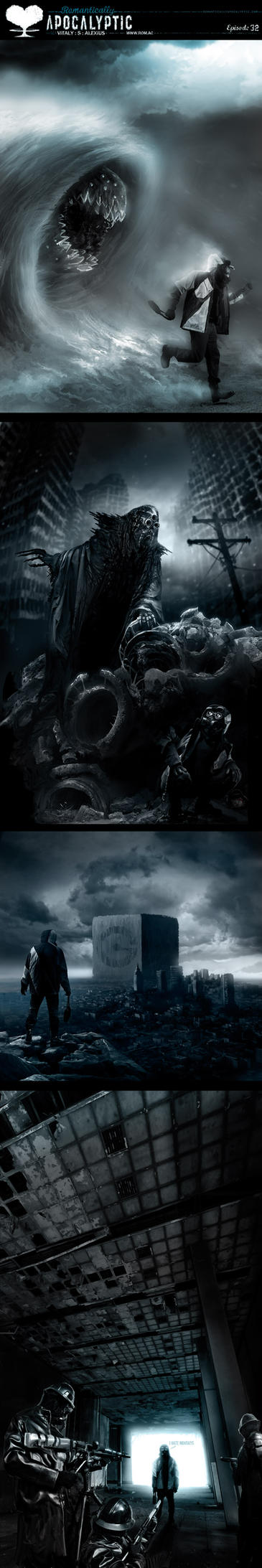 Romantically Apocalyptic 32 by alexiuss