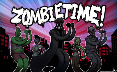 Zombietime by alexiuss