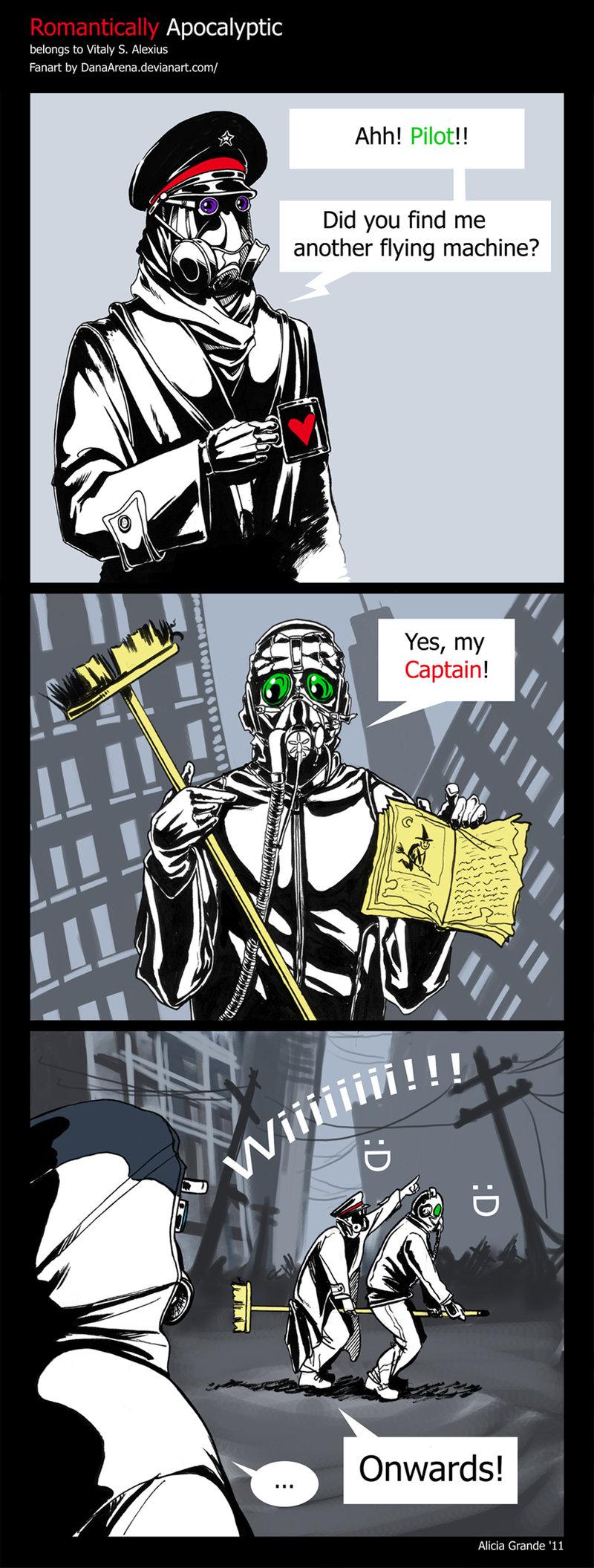 Captain by DanaArena by alexiuss