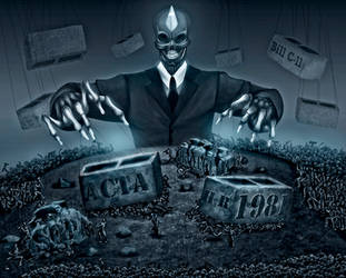 Corporotopia: BILLS of INTERNET DOOM by alexiuss