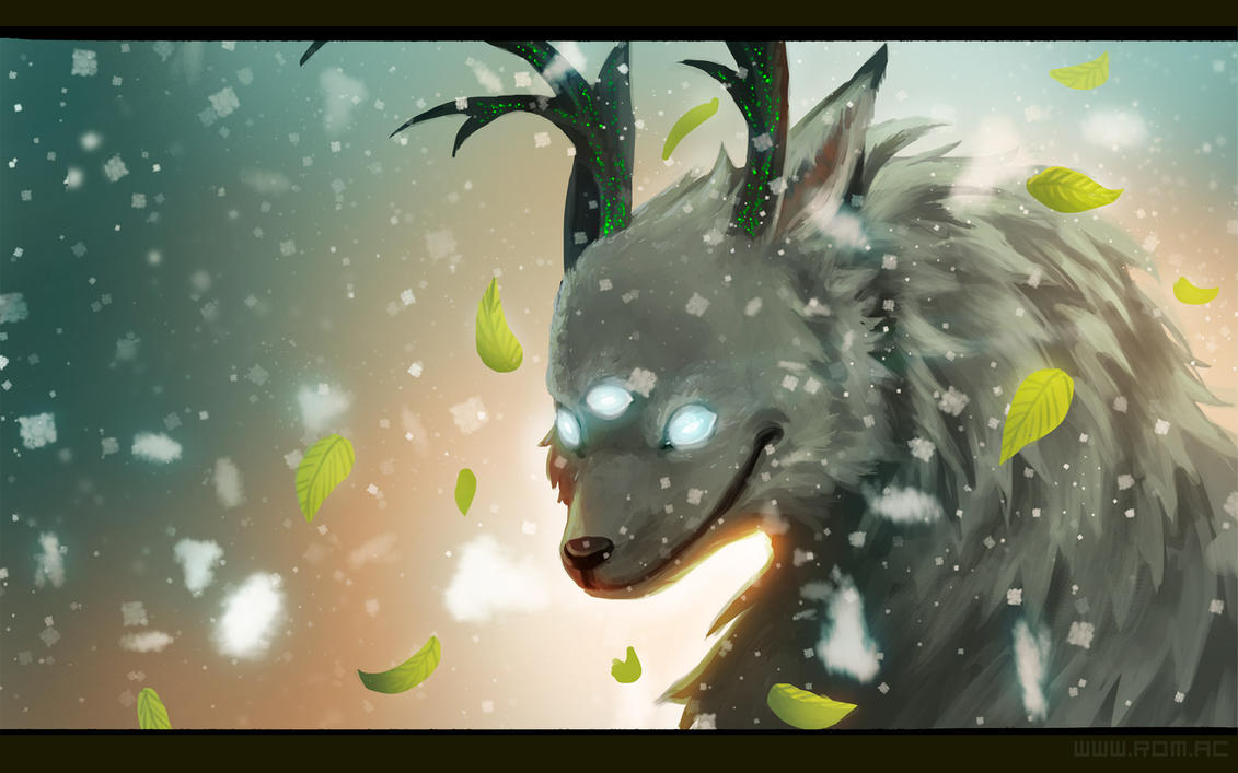 WOLFALOPE by Luna133 by alexiuss
