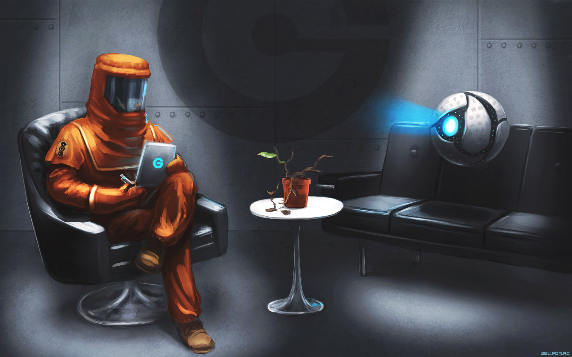 The Interview by alexiuss