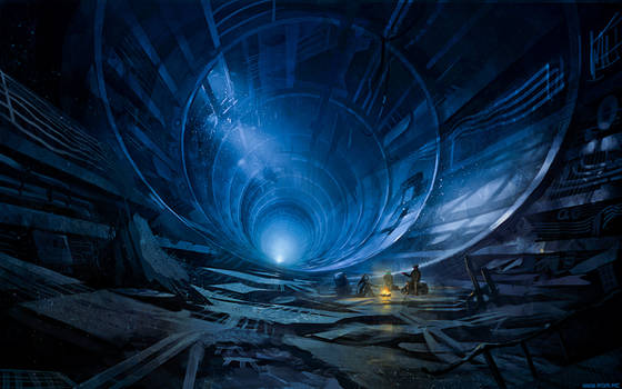 Tunnel Pipe Picnic by alexiuss