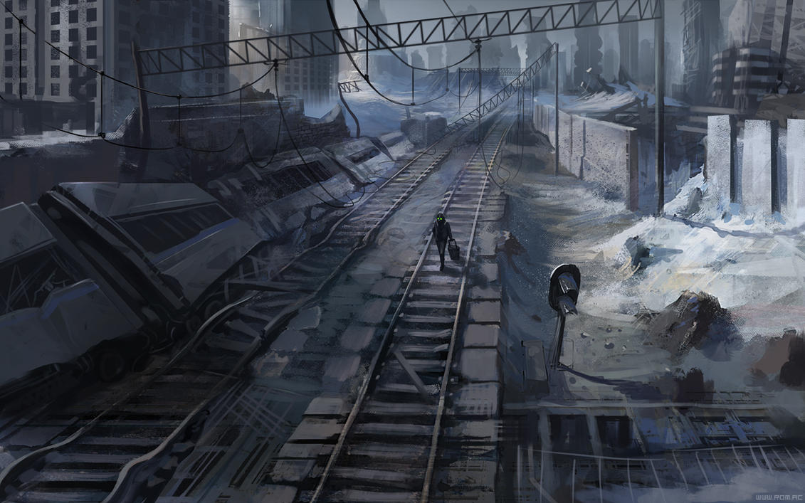 Follow the railroad by alexiuss