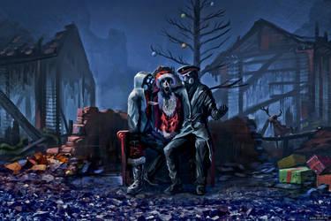 Santa's village by alexiuss