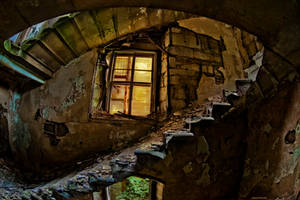 The weary stairs