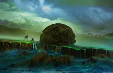 Sky rock by alexiuss