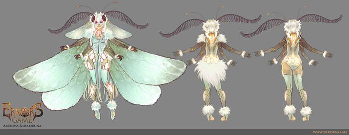 Mrr [ character concept art ]
