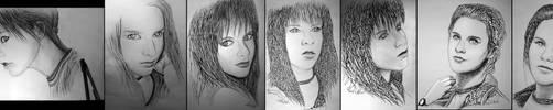 7 portraits by alexiuss
