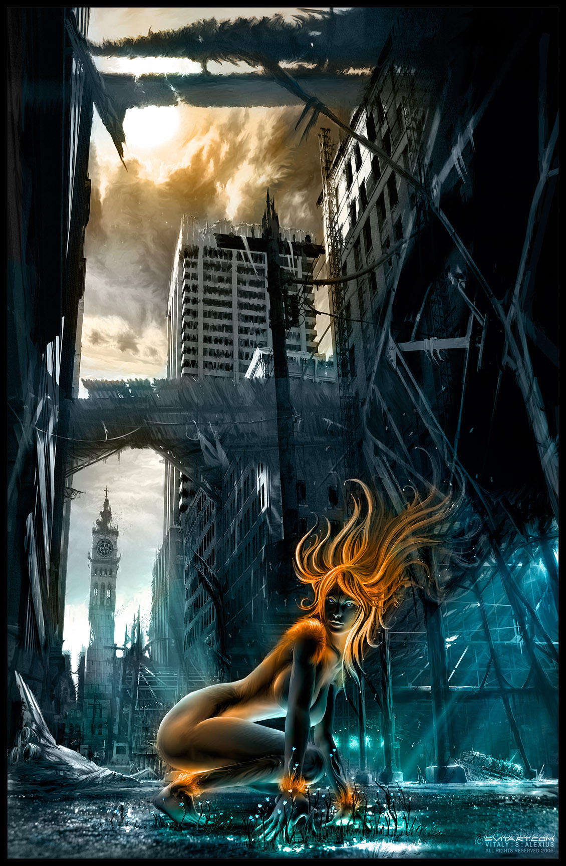 Feral Nova by alexiuss