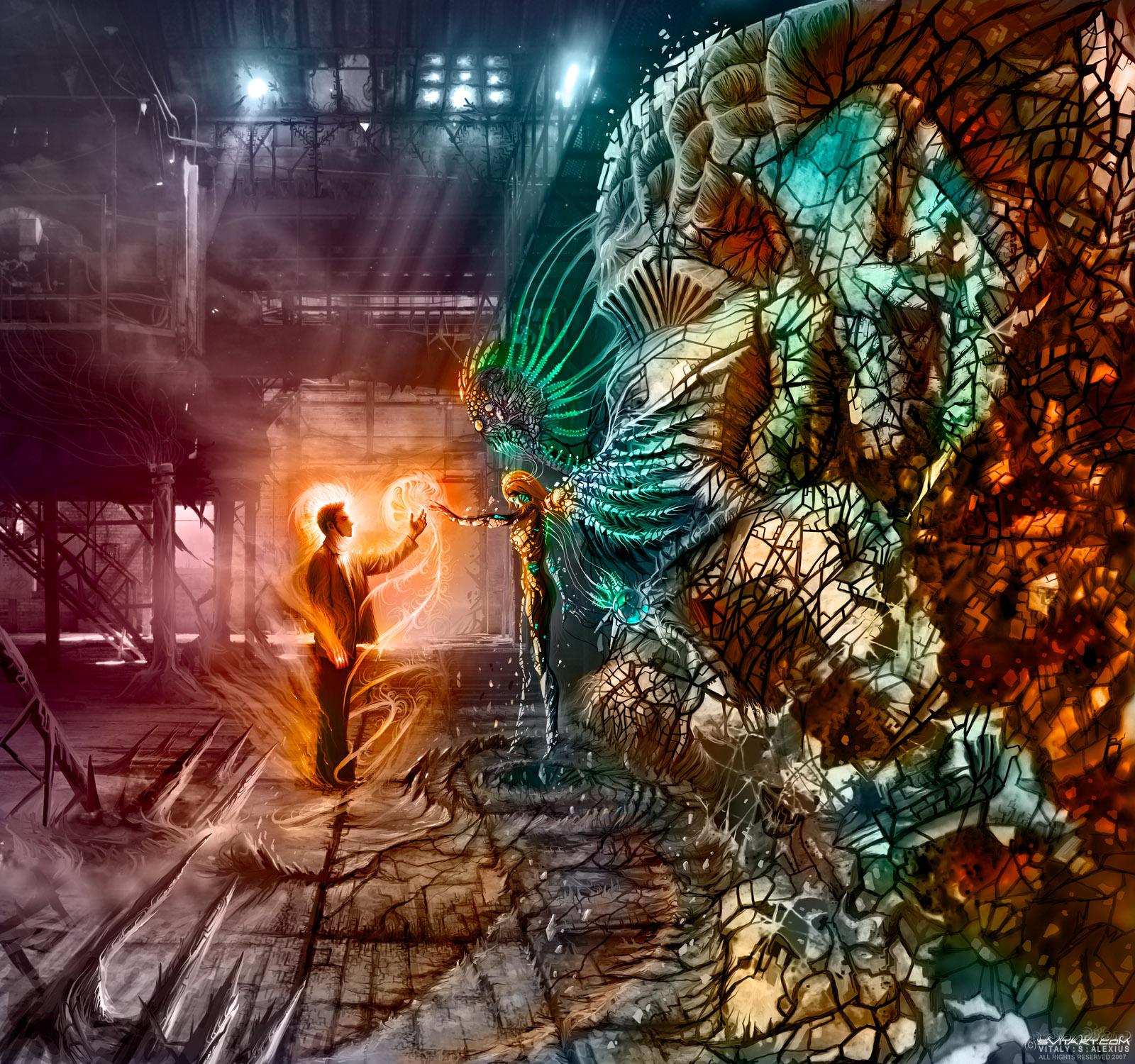 Chronoscape Resurgence by alexiuss