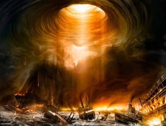 Delphian Calamity by alexiuss