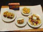 Homemade Tacos and Nachos
