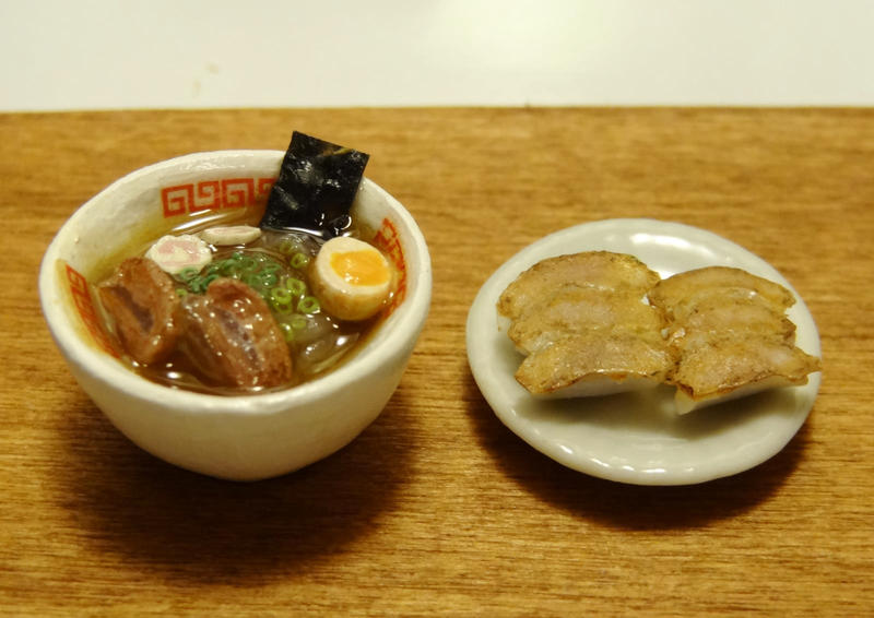 Japanese Ramen and Gyoza (Potstickers) by minivenger