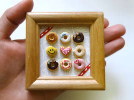My mini donuts collection by minivenger
