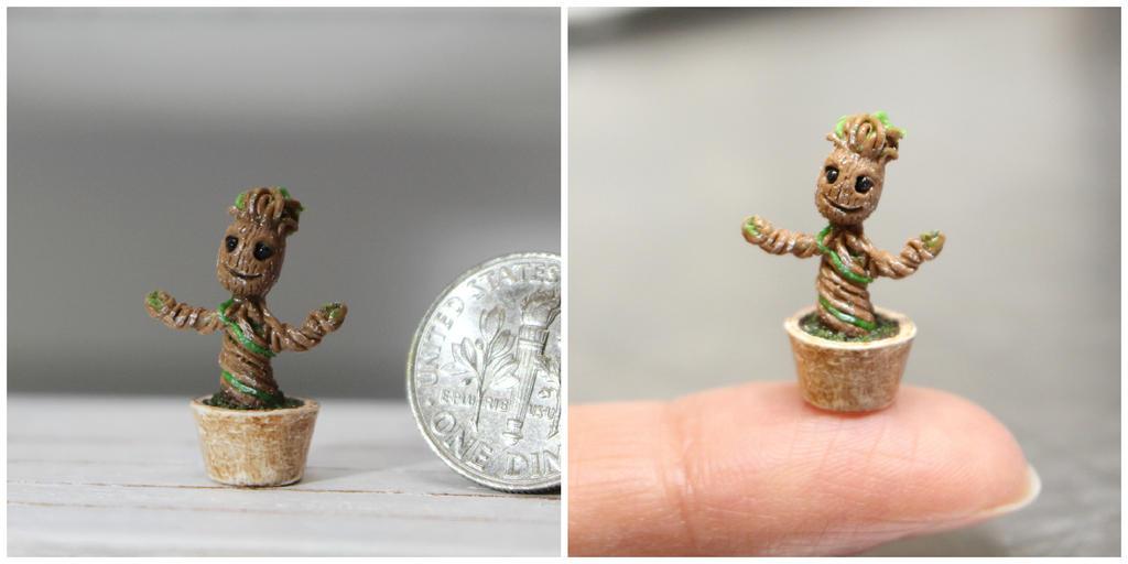 Baby Groot By Minivenger On Deviantart