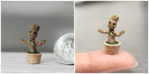 Baby Groot by minivenger