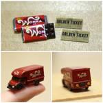 Wonka Bar and Truck