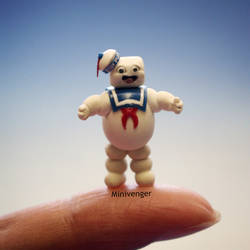 1 inch Stay Puft Marshmallow Man 1