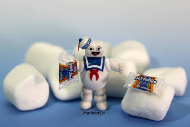 1 inch Stay Puft Marshmallow Man 2