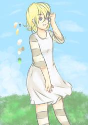 OC-Clara ~ Colored Sketch