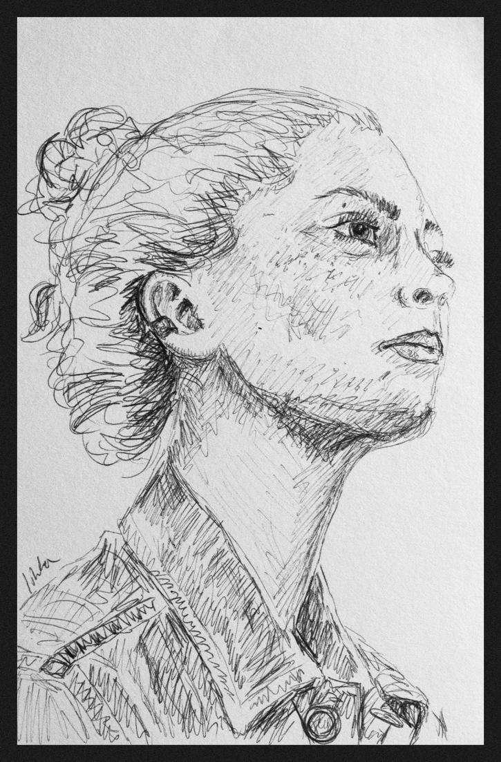 Self portrait II by Avalaa