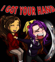 Krinx: I Got Your Hand~ by BunnyMeroko
