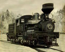 Painted Train by DrivenSphere