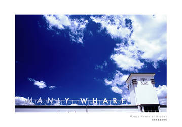 Manly Wharf at Midday